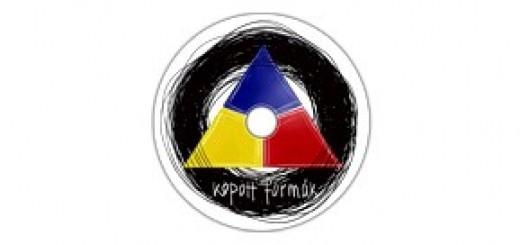 Kopott formák zenekari logo