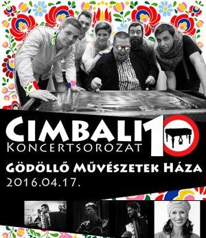 Cimbali 10 plakát
