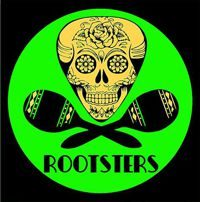 Rootsters zenekar logo