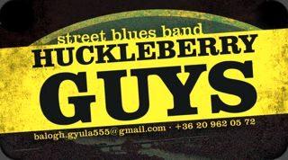 Huckleberry Guys kártya