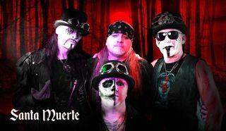Santa Muerte zenekar