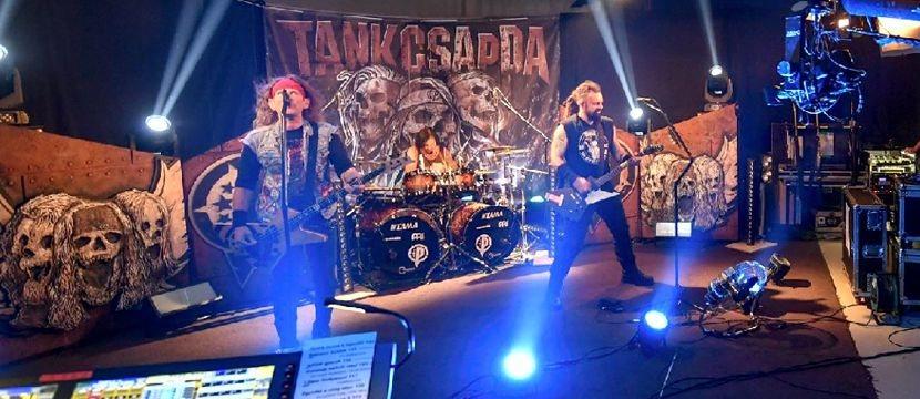 Tankcsapda Live Stream online koncert a Debrecen Televízió stúdiójából