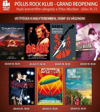 Zenei filmek a Pólus Mozibanfilmek