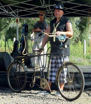 Tisza-Tavi Fesztivál kerékpár